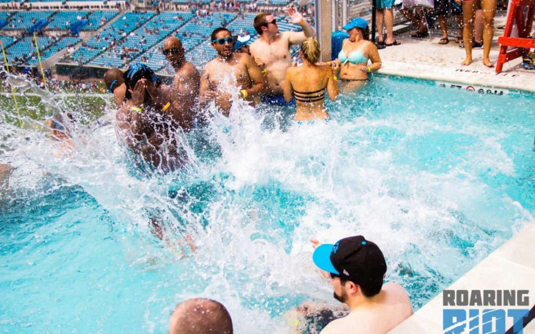 Back to the pools the jax takeover preview the riot report - Jacksonville jaguars swimming pool ...