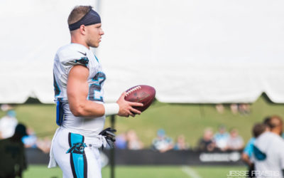 WATCH: Christian McCaffrey Speaks During Training Camp