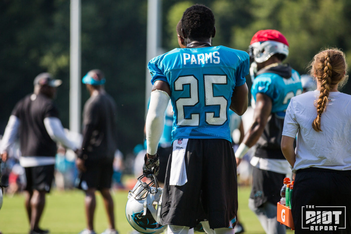 sports shoes 6e6e3 8ad6b Carolina Panthers Training Camp Report: August 6, 2017 | The ...
