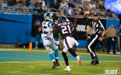 Panthers vs Texans AKA Damiere Byrd Coming Out Party Report