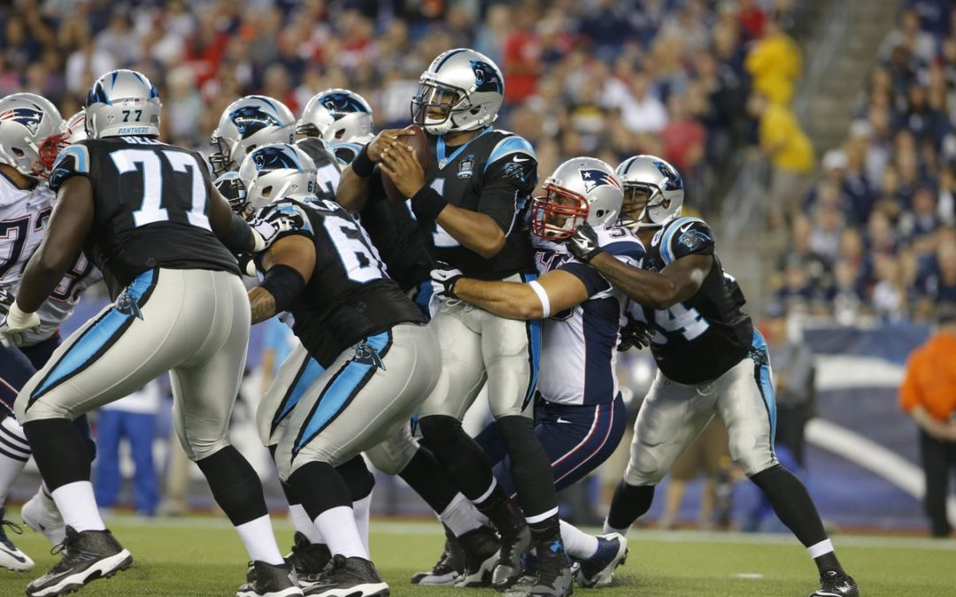 Line 'Em Up: Panthers Offensive Line vs. Patriots Defensive Line