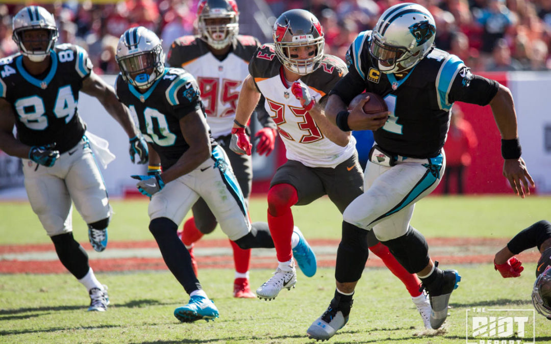 Carolina Panthers' offense explodes against Tampa Bay Buccaneers