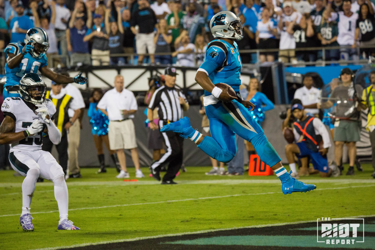 uk availability 18ed2 43ae7 Carolina Panthers vs. Philadelphia Eagles Week 5 Report ...