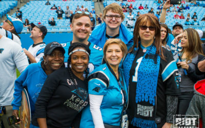 Panthers Fan, Dealt A Tragedy, Turns to Her Panthers Family For Somebody To Lean On
