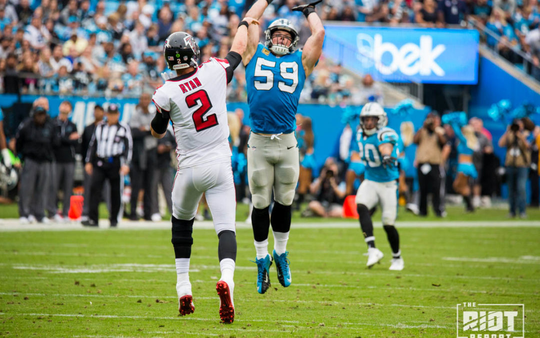 Two Ways The Panthers Can Counteract Their O-Line Injuries On Sunday