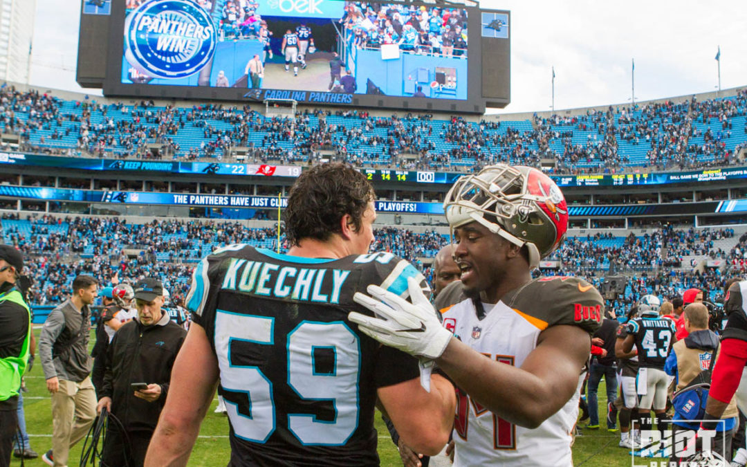 Luke Kuechly Named Winner of 2017 Art Rooney Sportsmanship Award