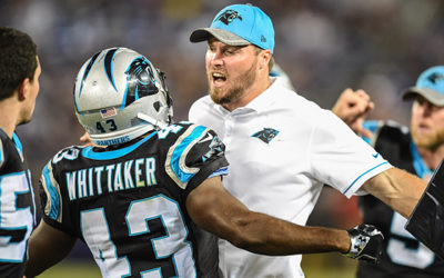 Former Panthers Linebacker Chase Blackburn Named Special Teams Coordinator