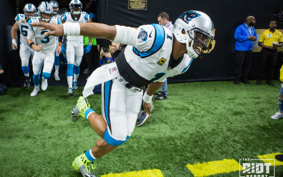 The Greatest Game I've Seen Cam Newton Play