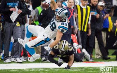 Carolina Panthers vs. New Orleans Saints Wild Card Round Report