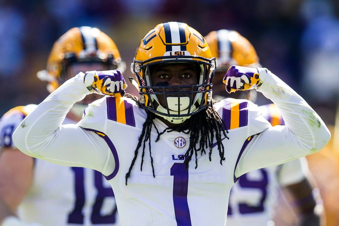 Panthers select LSU CB Donte Jackson with 23rd pick in second round