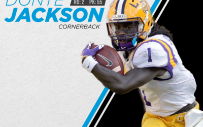 The Panthers Have Drafted CB Donte Jackson