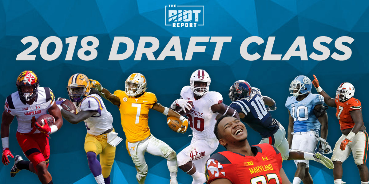 sports shoes 40593 05f22 Meet the Carolina Panthers 2018 Draft Class | The Riot Report