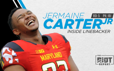 The Panthers Draft Jermaine Carter, Linebacker, In The Fifth Round