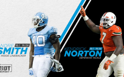 Panthers Select Two For The Front Seven With Their Seventh Round Draft Picks
