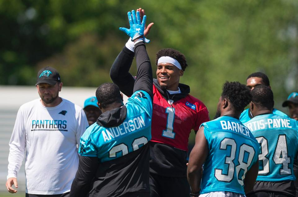 Count CJ Anderson Among Cam Newton's New Weapons