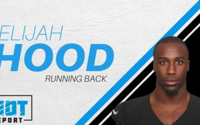 Panthers Add Another Running Back: Claiming Former Charlottean and Tar Heel Elijah Hood Off Waivers