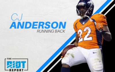 Panthers Find Some Thunder In Free Agent RB CJ Anderson