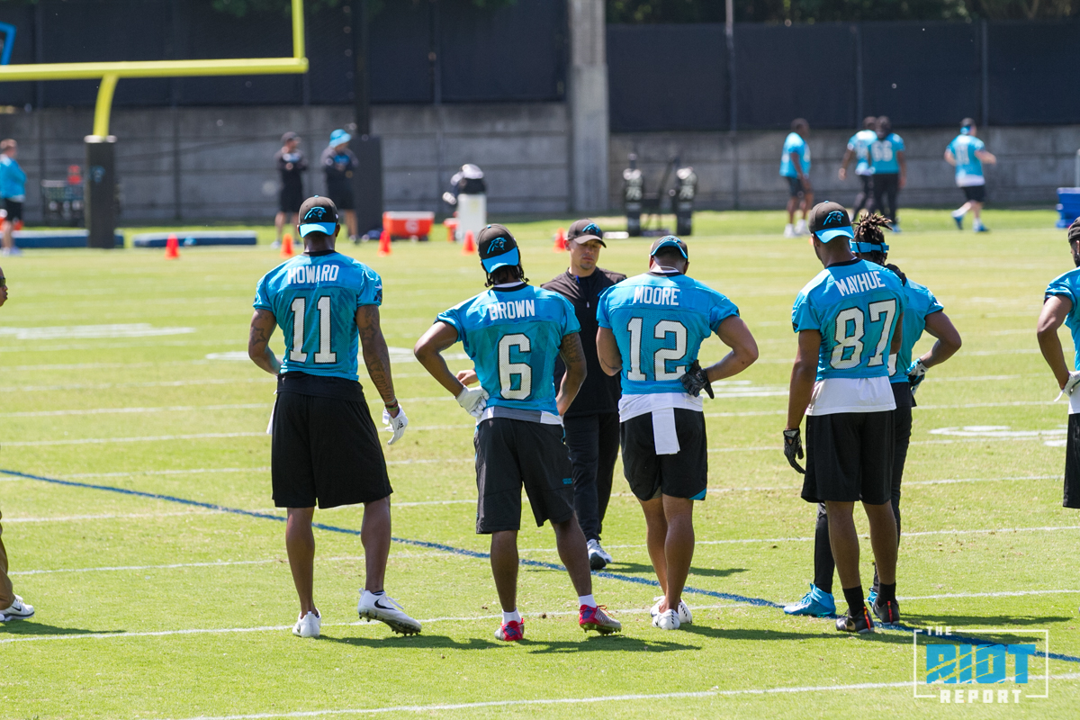 Panthers Rookie Mini-Camp Day 1 Quick Hits