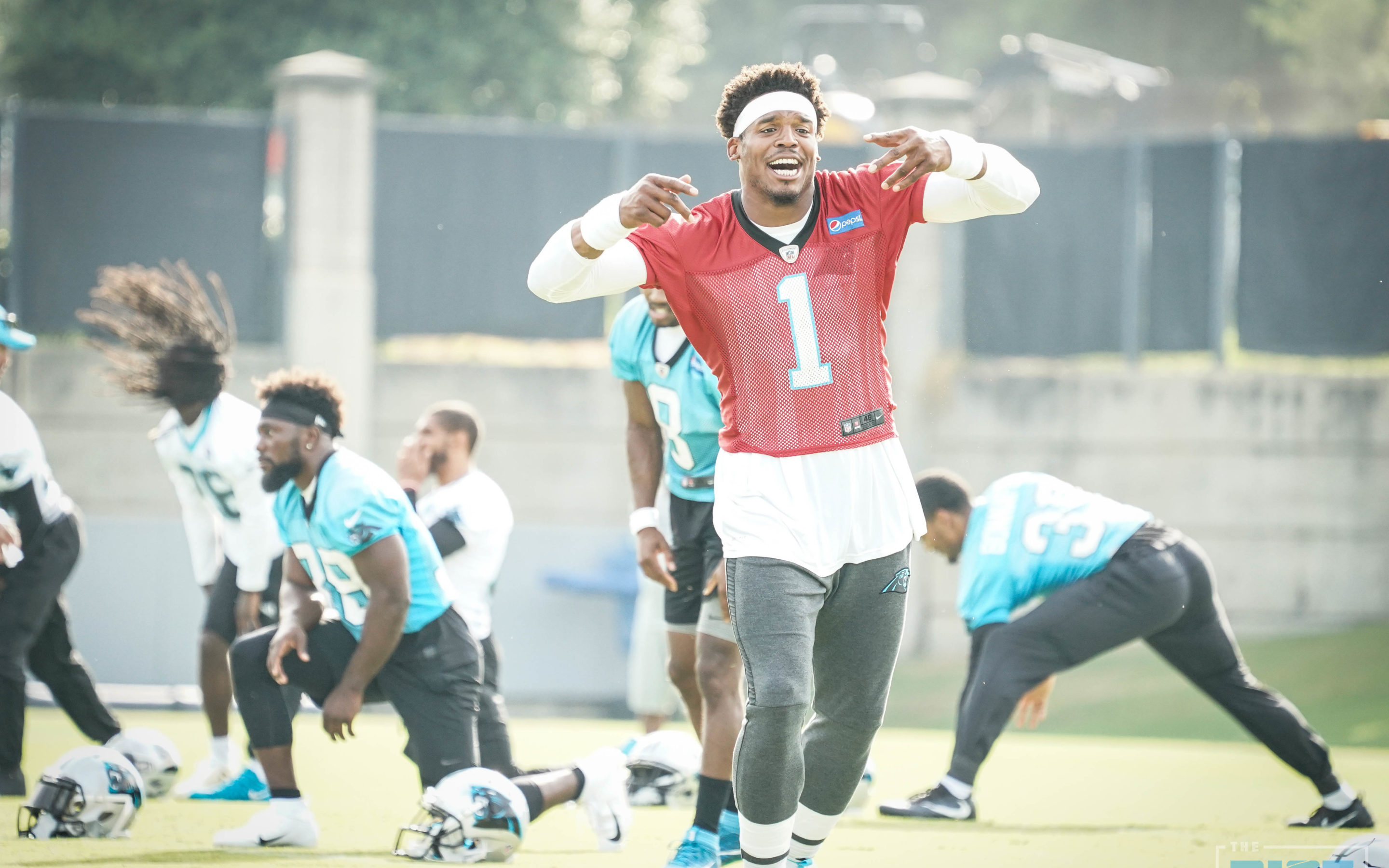 228cbe146a6 Panthers Mini-Camp Day 3 Quick Hits | The Riot Report