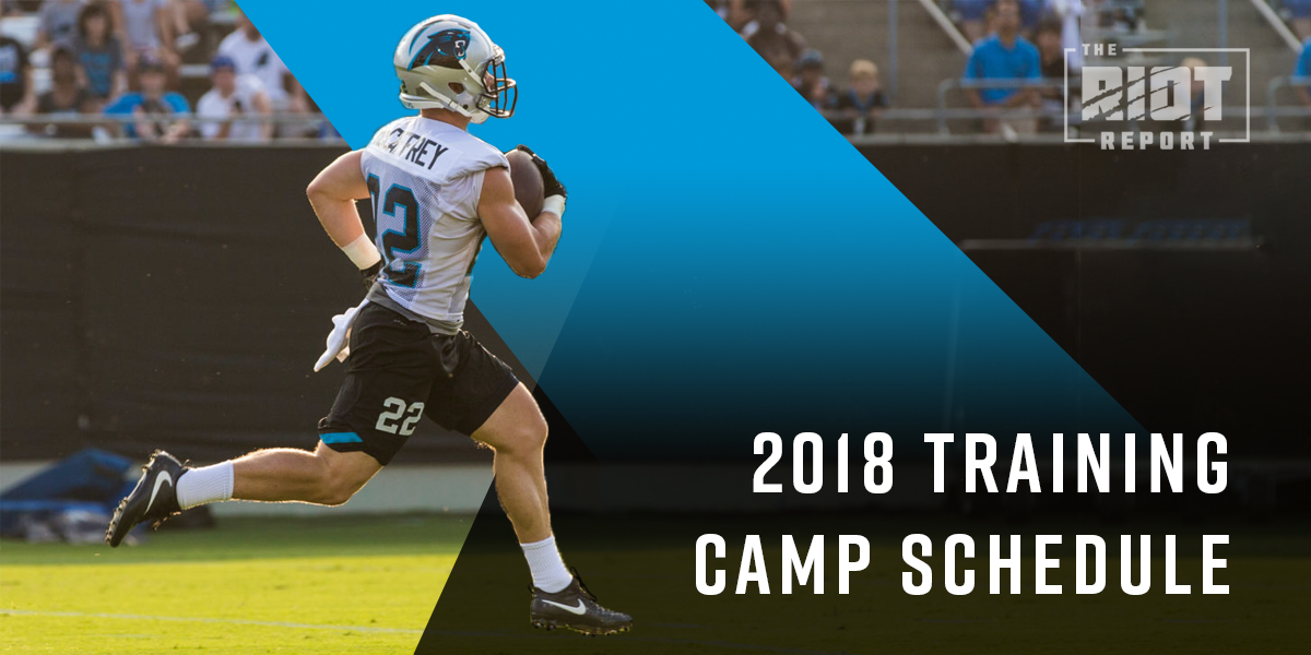 2018 Panthers Training Camp Dates Are Here
