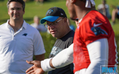 The Aeroplane & The Parachute: David Tepper On Cam Newton's Shoulder