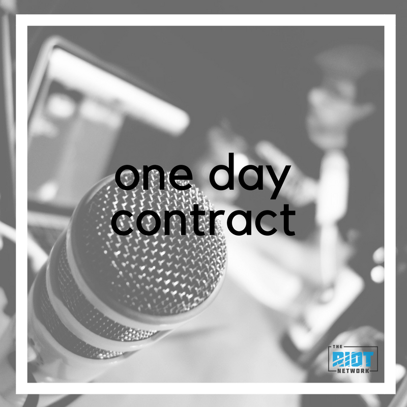 One Day Contract: Pilot Episode With Zack Luttrell
