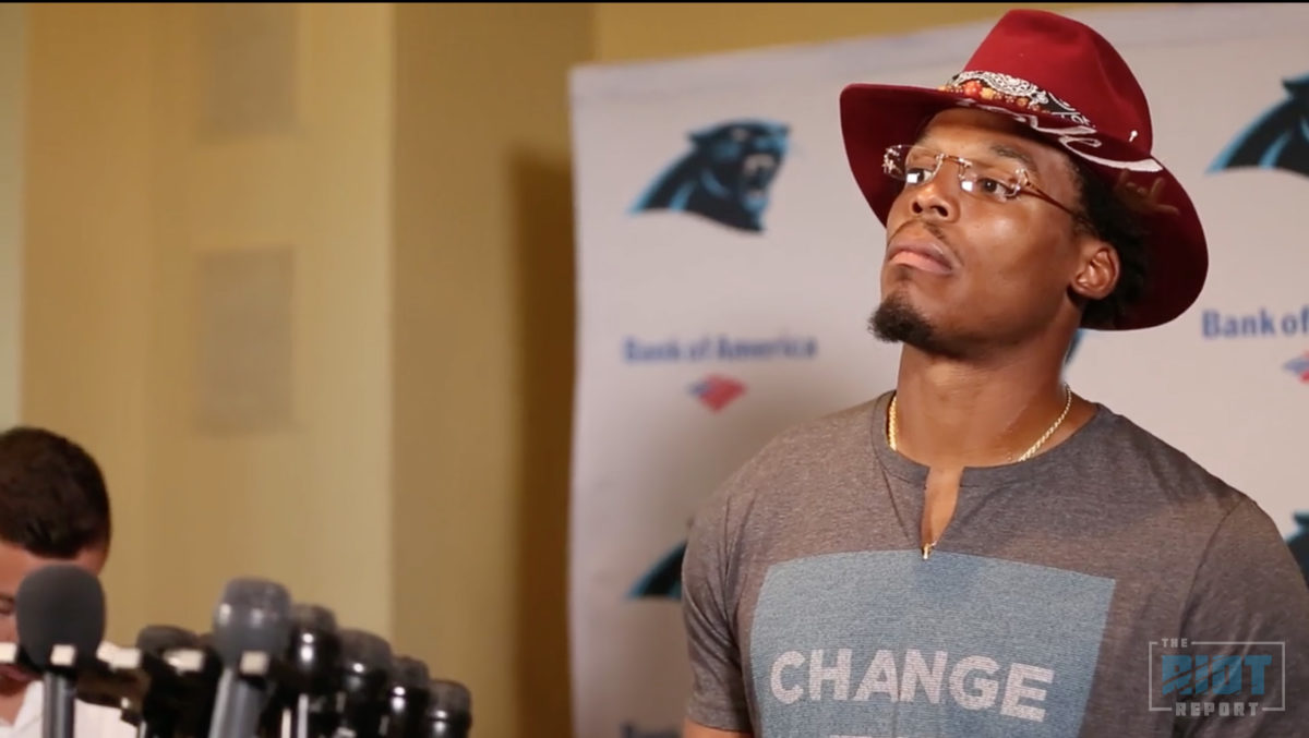 Cam Newton Can See The Culture Changing