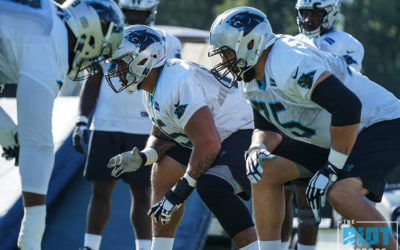 "Mixing And Matching Up Front ""A Little Worrisome"" For Panthers"