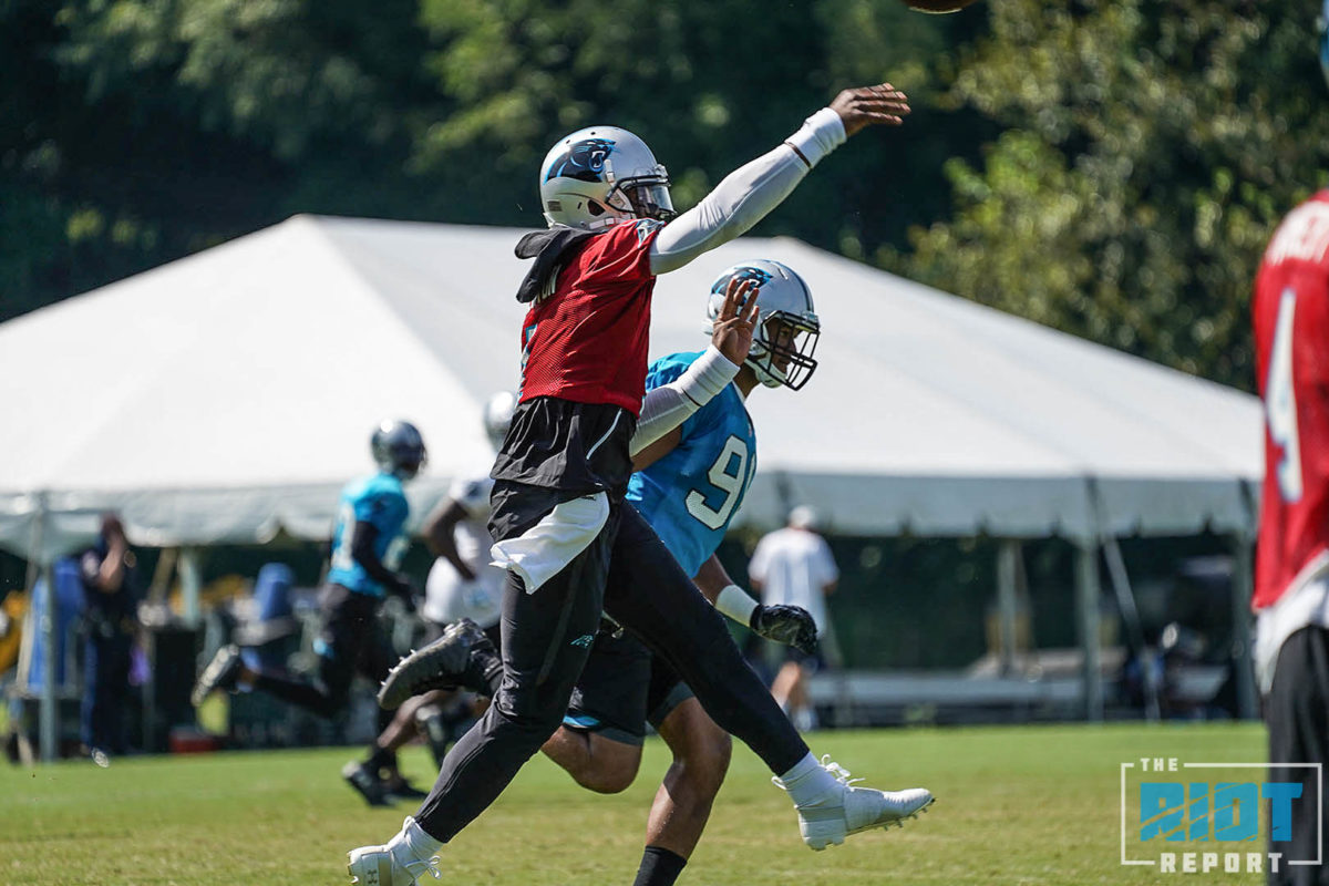 Training Camp Photo Gallery – August 7, 2018