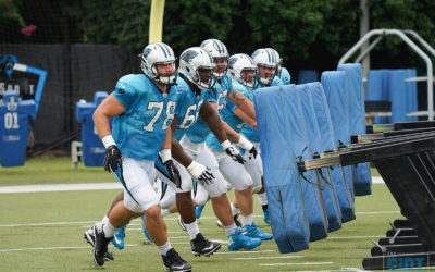 Panthers Searching For Continuity On The Offensive Line