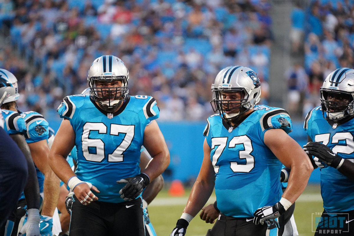 Patchwork Offensive Line Impresses In Panthers' Dress Rehearsal