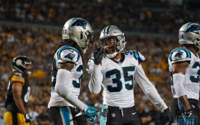 If Cockrell and Jackson Can't Go, Panthers Options Limited At Corner