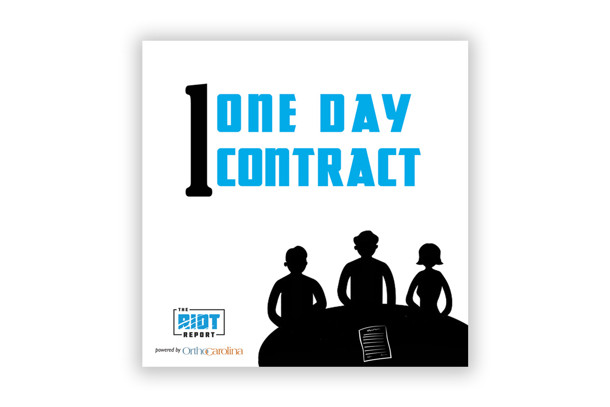 One Day Contract: Cam Released With Josh Parcell