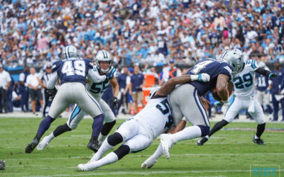Carolina Panthers Defense Starves Ezekiel Elliott And The Cowboys
