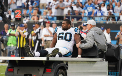Greg Olsen and Daryl Williams Injury Updates