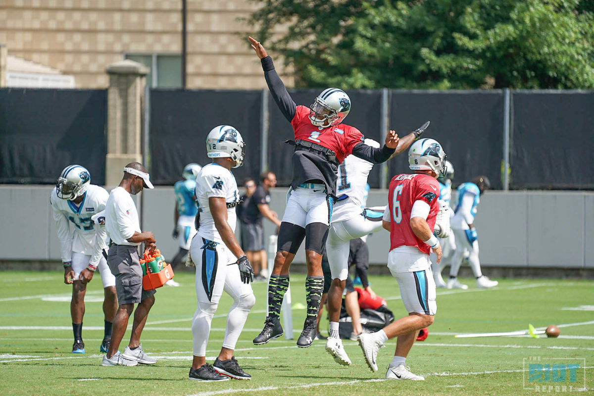 Photo Gallery: Panthers Practice – September 12, 2018