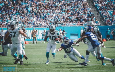 Snap Counts: Curtis Samuel Being Worked In Slowly