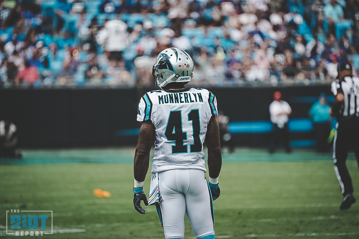on sale 40177 16a72 Panthers Set To Release Captain Munnerlyn | The Riot Report