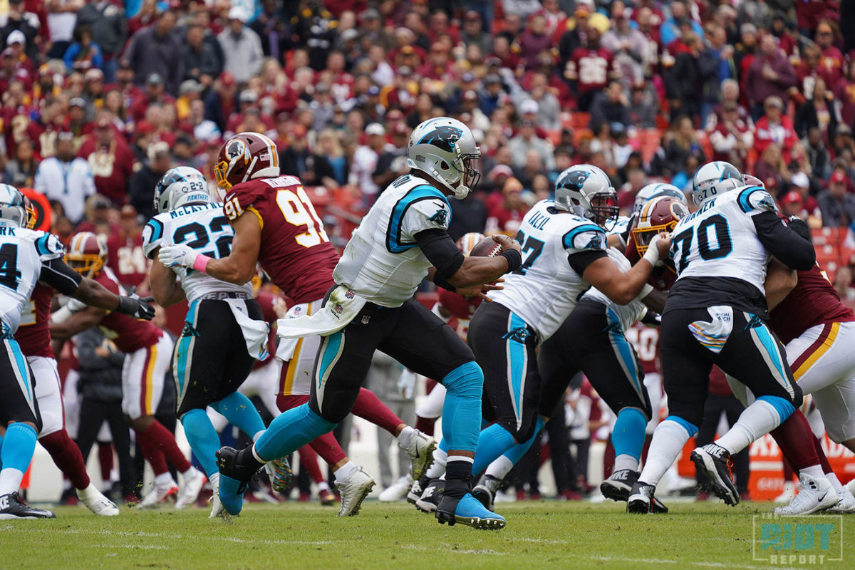 Part Three: Where Has The Panthers' Ground Game Gone?
