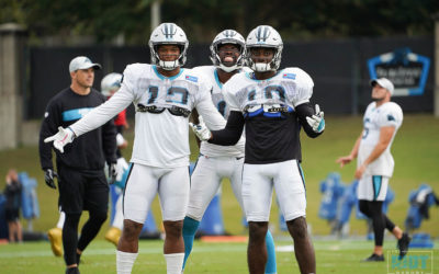 Photo Gallery: Panthers Practice, October 17