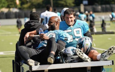 Photo Gallery: Panthers Practice, October 18, 2018