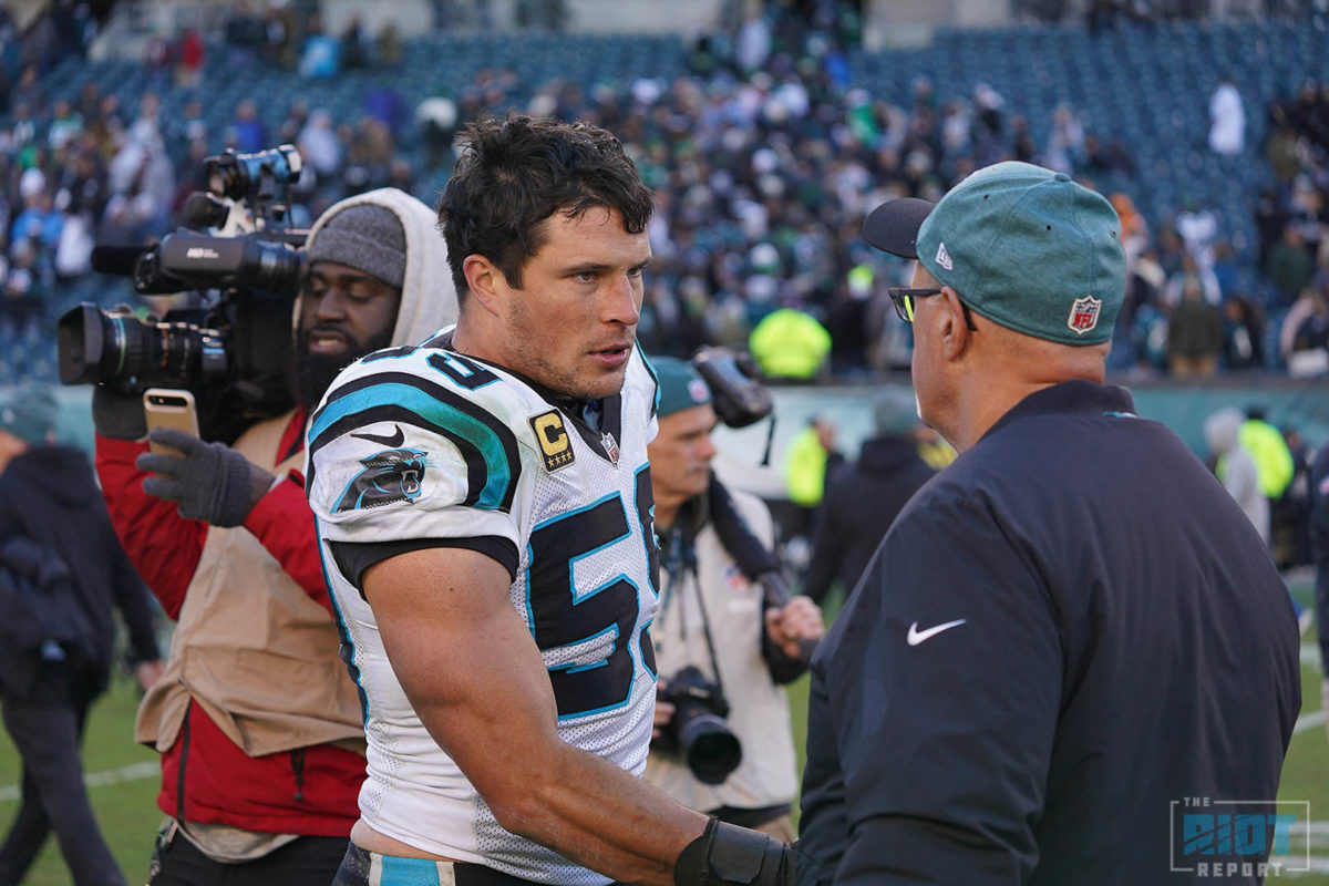 Panthers Reportedly Restructure Kuechly's Contract to Gain Cap Room