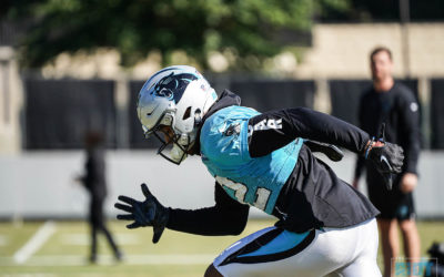 Photo Gallery: Panthers Practice October 24, 2018