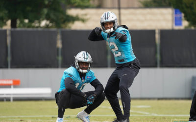 Photo Gallery: Panthers Practice – October 25, 2018