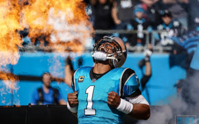 Cam Newton Playing At An MVP Pace