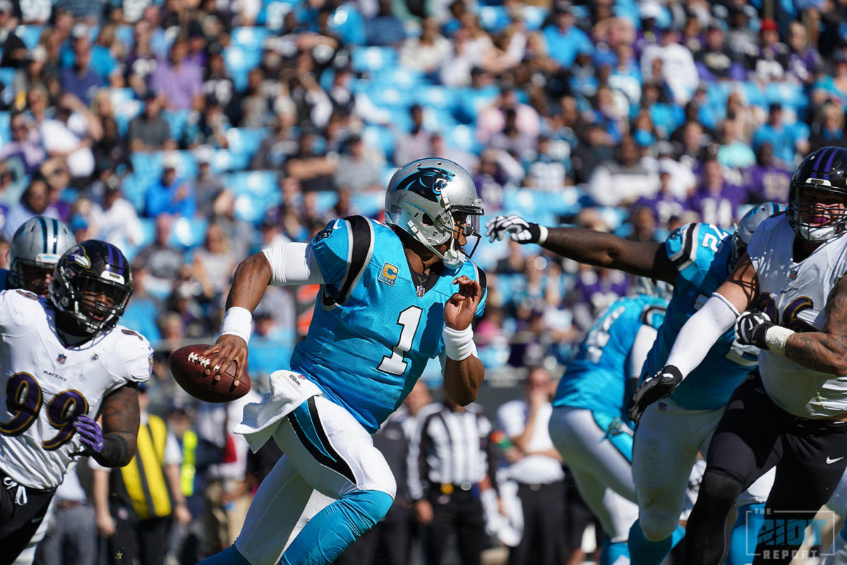 """Misfit"" Offensive Line Turns Away Vaunted Ravens Defense"