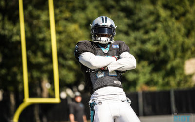 Photo Gallery: Panthers Practice October 31, 2018