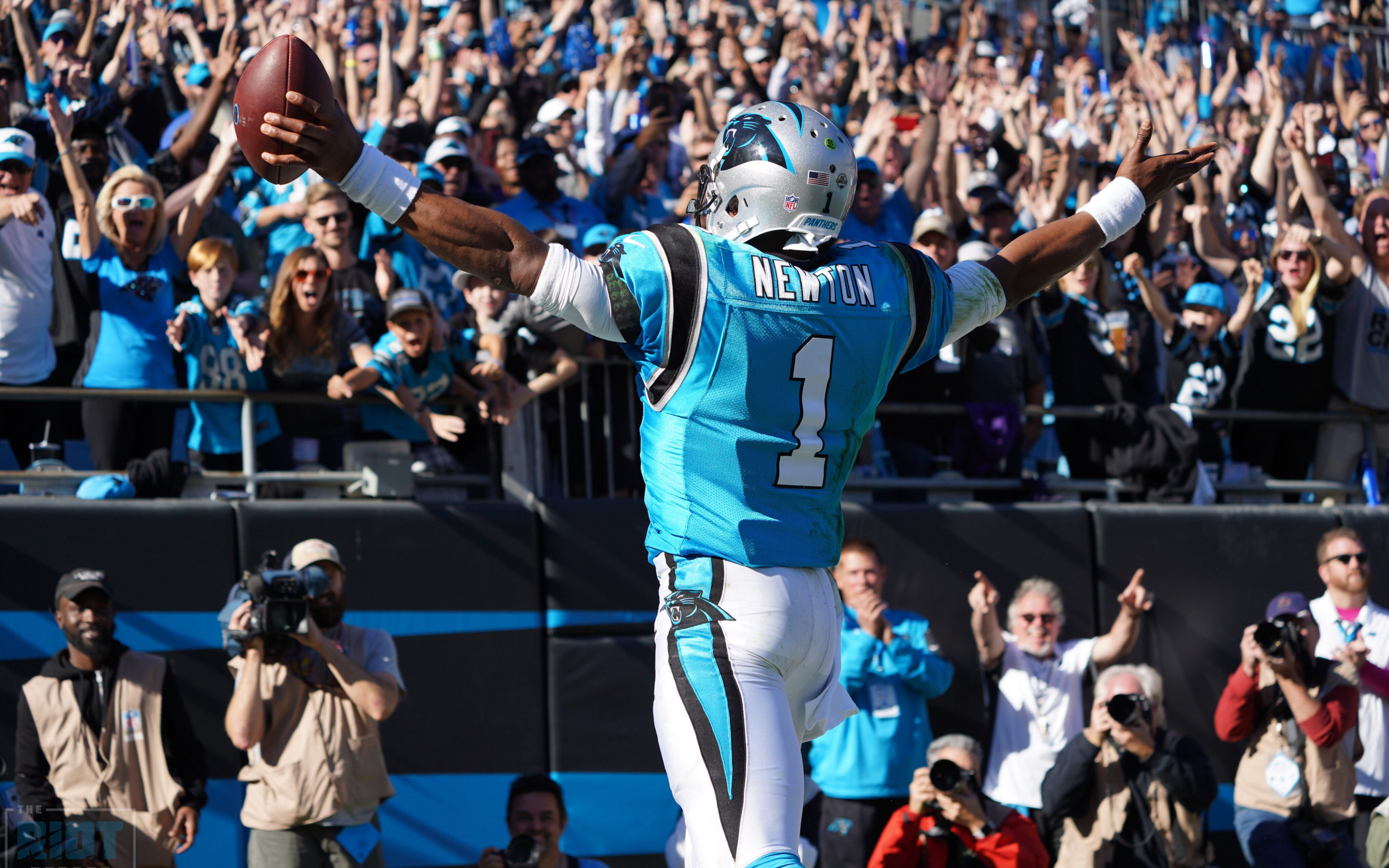 new styles 2a45f 2d09e Baltimore Ravens vs. Carolina Panthers Report | The Riot Report