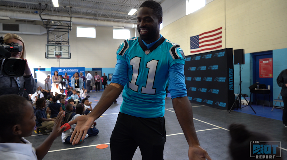 Torrey Smith And Academy Partner To Give Back To Local School