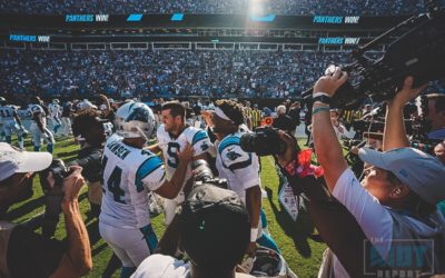 Panthers Leave Game on Gano's Toe And He Doesn't Disappoint